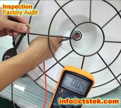 electrical appliance shipment inspection