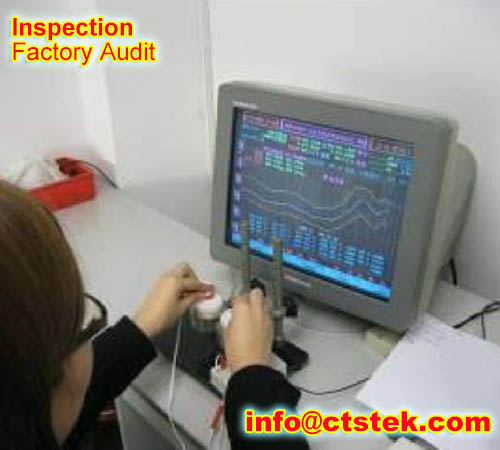 Bluetooth headphone onsite inspection