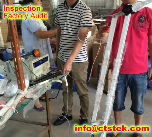 golf club QC inspection