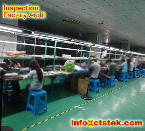 knitwear onsite inspection