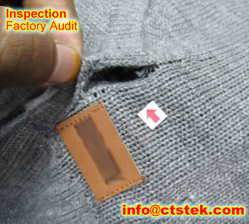 garment QC inspection
