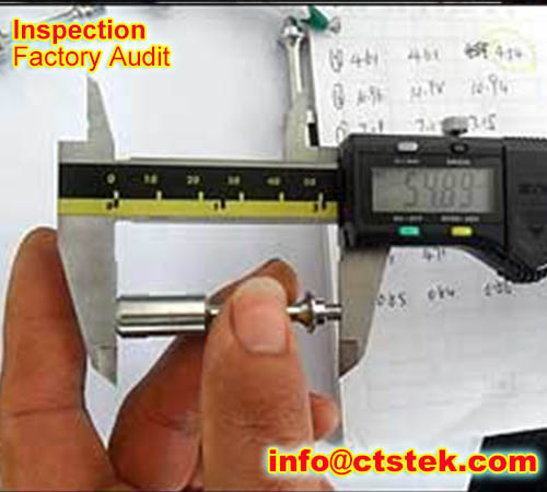 clock pre-shipment inspection