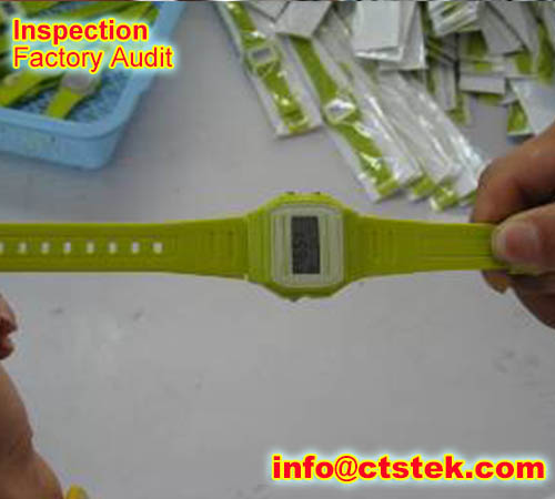 Watches quality control