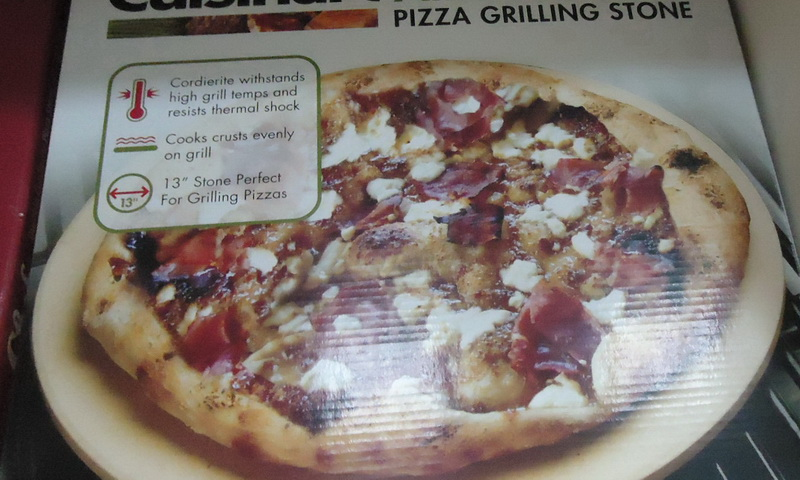 pizza grilling stone